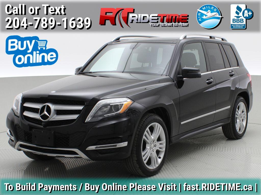 Black[Black] 2015 Mercedes-Benz GLK-Class - DIESEL, Panoramic Roof, Leather