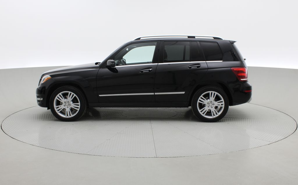 Black[Black] 2015 Mercedes-Benz GLK-Class - DIESEL, Panoramic Roof, Leather Left Side Photo in Winnipeg MB