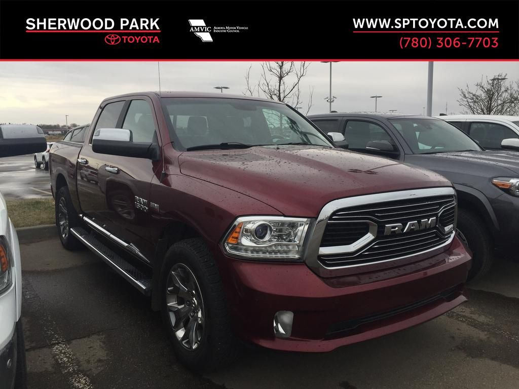 Red[Red Pearl] 2017 Ram 1500 Limited 4x4