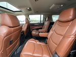 White[Crystal White Tricoat] 2019 Cadillac Escalade ESV Left Side Rear Seat  Photo in Calgary AB