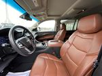 White[Crystal White Tricoat] 2019 Cadillac Escalade ESV Left Front Interior Photo in Calgary AB