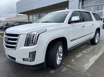 White[Crystal White Tricoat] 2019 Cadillac Escalade ESV Left Front Head Light / Bumper and Grill in Calgary AB