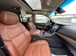 White[Crystal White Tricoat] 2019 Cadillac Escalade ESV Right Side Front Seat  Photo in Calgary AB