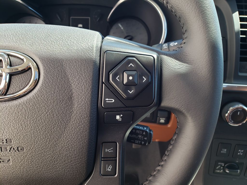 White[Blizzard Pearl] 2021 Toyota Sequoia Left Side Rear Seat  Photo in Kelowna BC