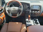 White[Blizzard Pearl] 2021 Toyota Sequoia Steering Wheel and Dash Photo in Kelowna BC