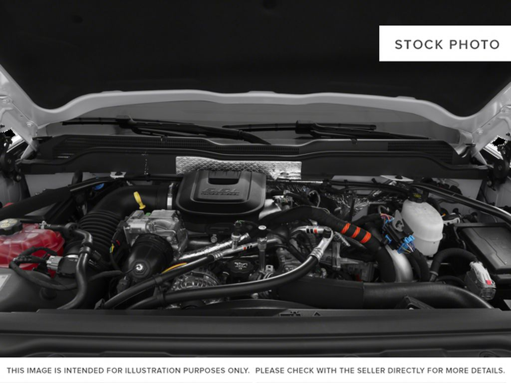 White[Summit White] 2015 Chevrolet Silverado 2500HD Built After Aug 14 Engine Compartment Photo in Fort Macleod AB