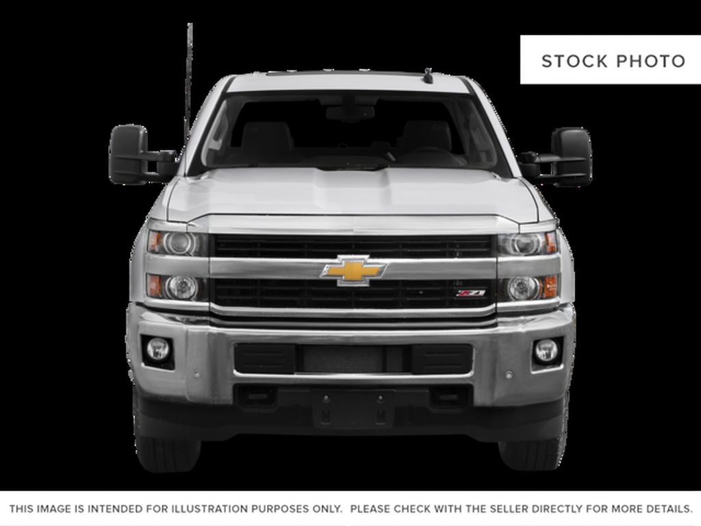 White[Summit White] 2015 Chevrolet Silverado 2500HD Built After Aug 14 Front Vehicle Photo in Fort Macleod AB