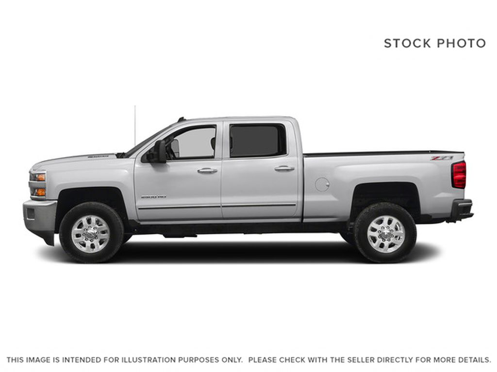 White[Summit White] 2015 Chevrolet Silverado 2500HD Built After Aug 14 Left Side Photo in Fort Macleod AB