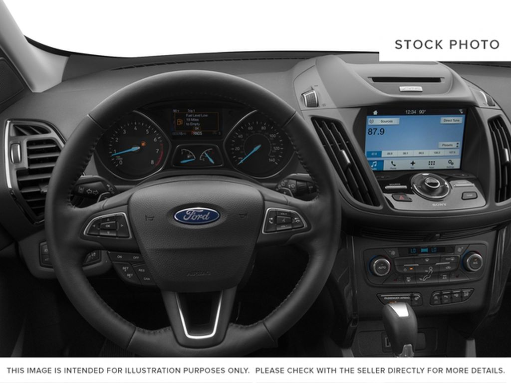 2017 Ford Escape Steering Wheel and Dash Photo in Fort Macleod AB