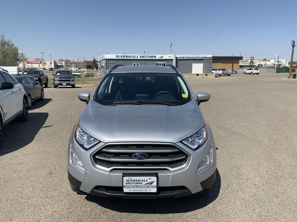 Silver[Moondust Silver Metallic] 2020 Ford EcoSport Front Vehicle Photo in Brandon MB