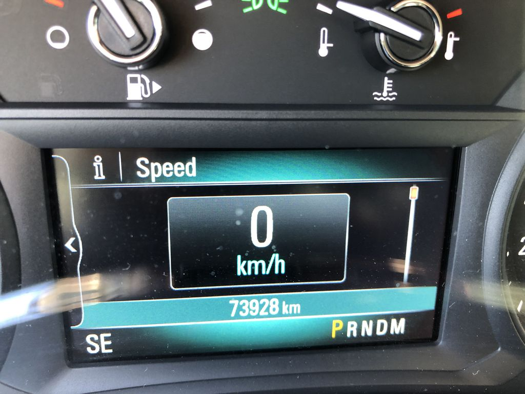 White[Summit White] 2017 Buick Encore CX Odometer Photo in Canmore AB