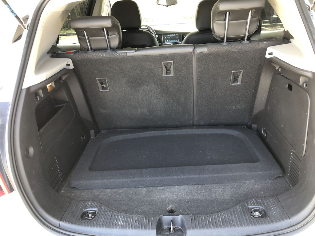 White[Summit White] 2017 Buick Encore CX Trunk / Cargo Area Photo in Canmore AB