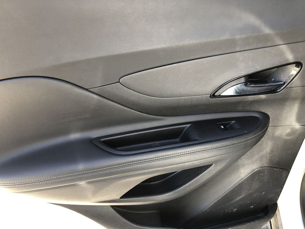 White[Summit White] 2017 Buick Encore CX Left Rear Interior Door Panel Photo in Canmore AB