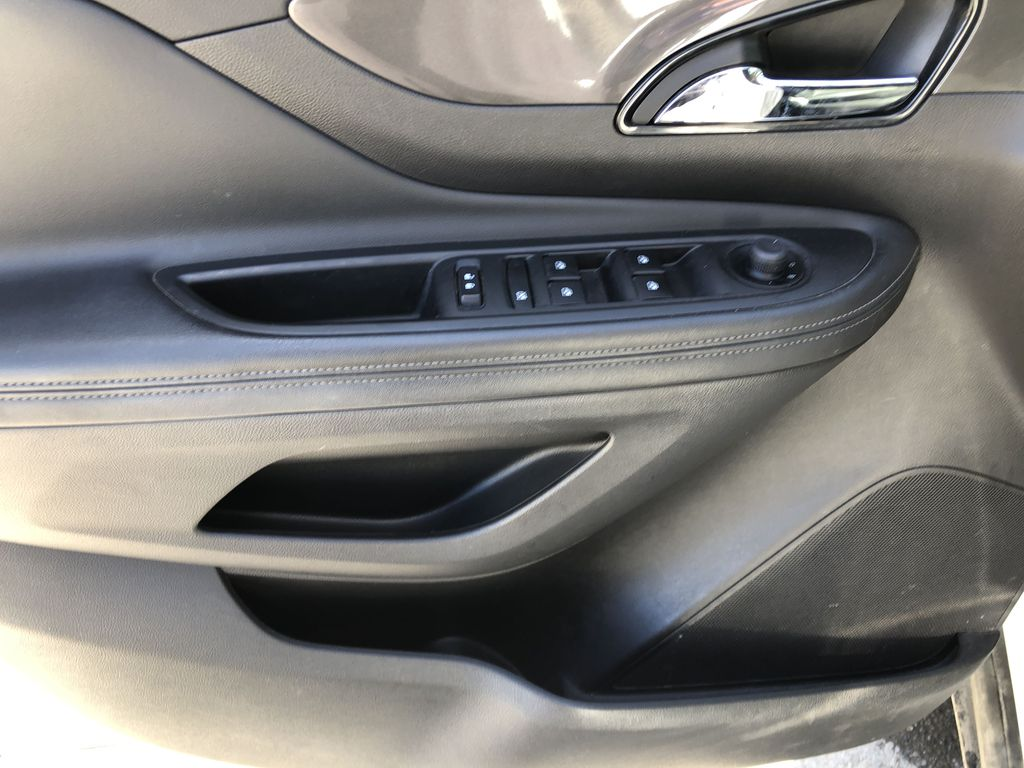 White[Summit White] 2017 Buick Encore CX Left Front Interior Door Panel Photo in Canmore AB