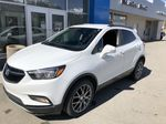 White[Summit White] 2017 Buick Encore CX Left Front Corner Photo in Canmore AB