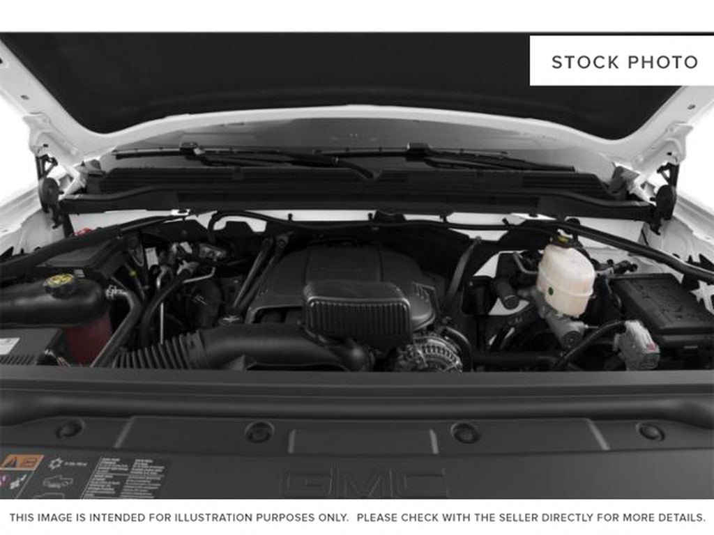 White[Summit White] 2019 GMC Sierra 2500HD Engine Compartment Photo in Fort Macleod AB