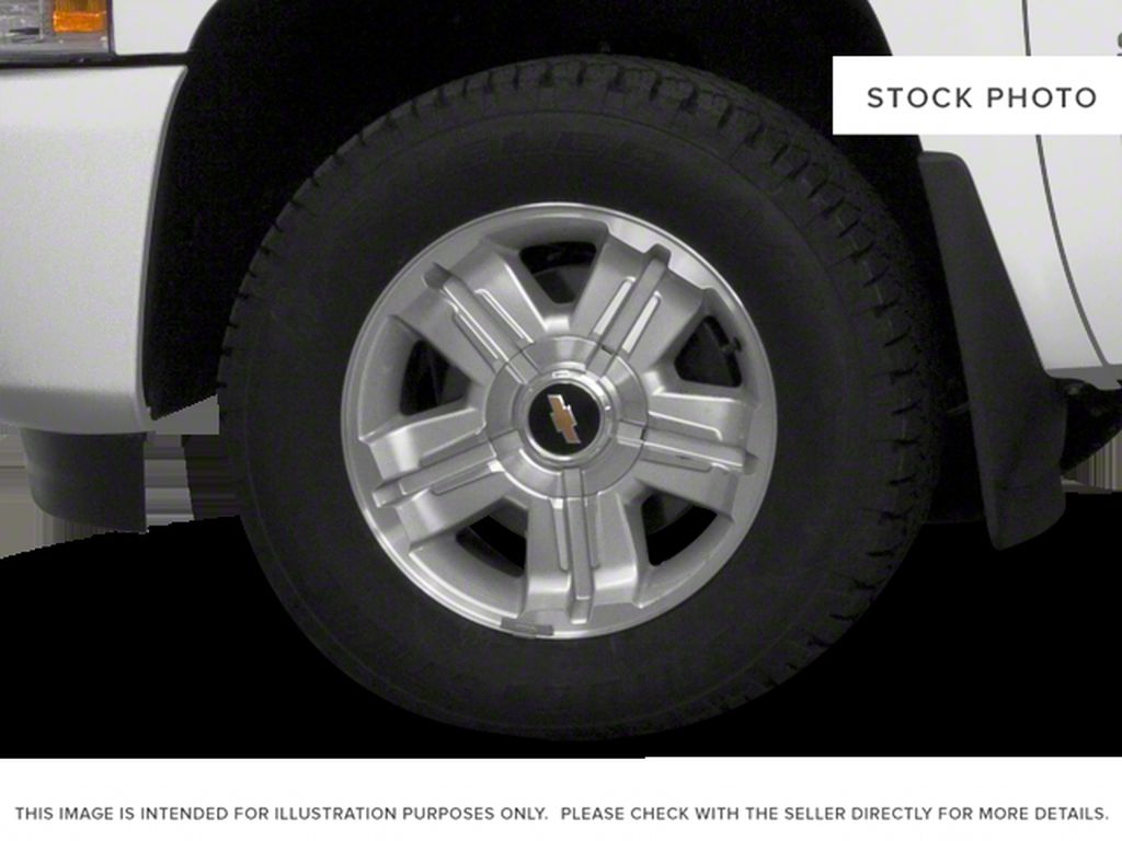 Black[Black] 2012 Chevrolet Silverado 1500 Left Front Rim and Tire Photo in Fort Macleod AB