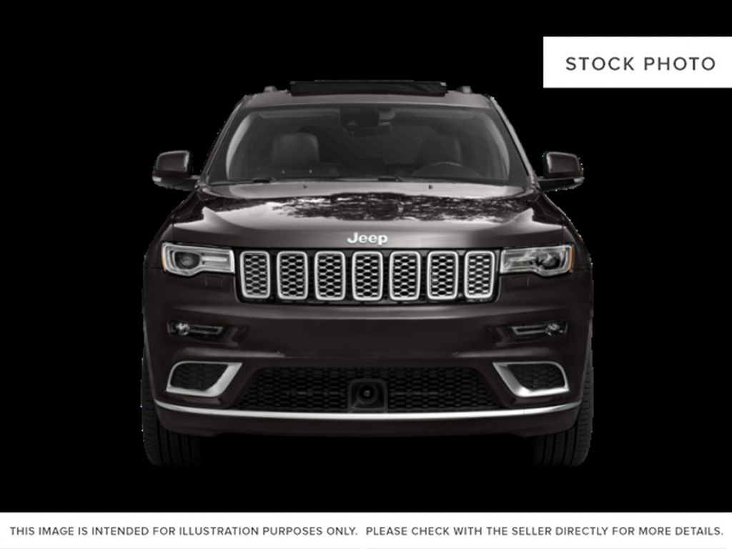 White[Bright White] 2018 Jeep Grand Cherokee Front Vehicle Photo in Fort Macleod AB