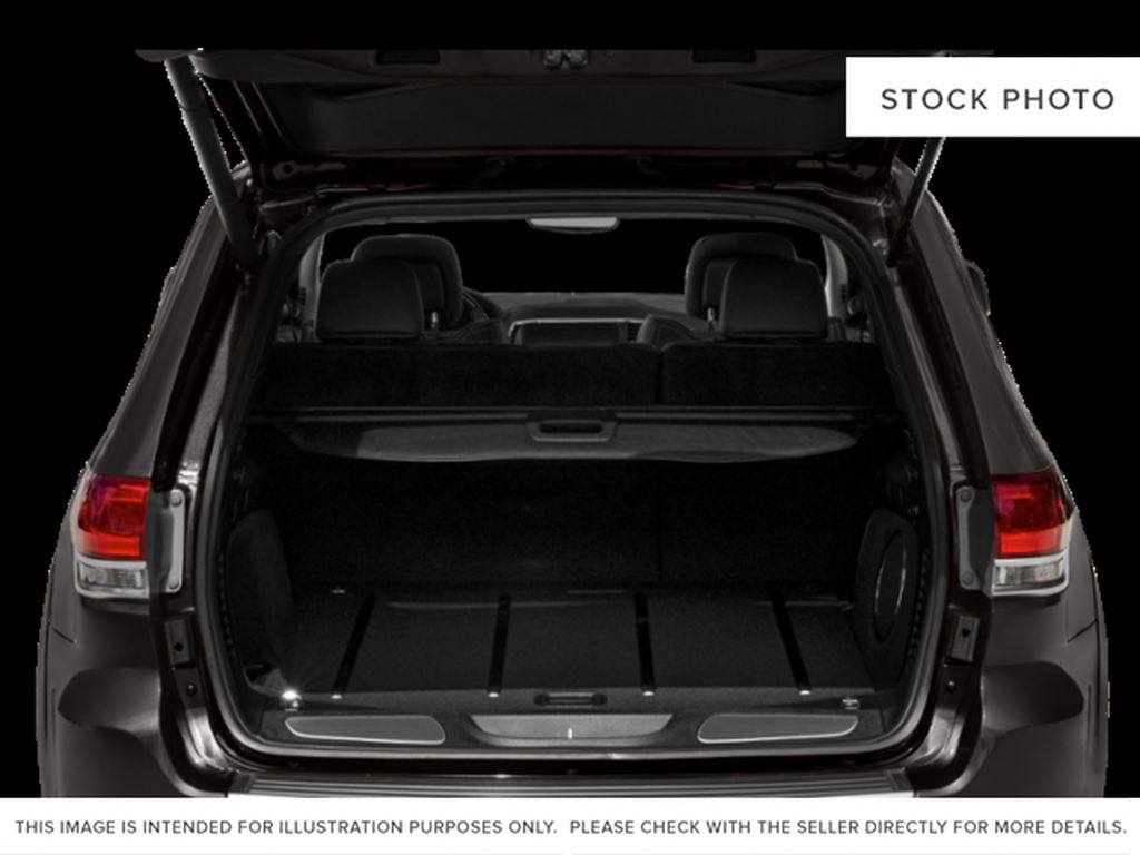 White[Bright White] 2018 Jeep Grand Cherokee Trunk / Cargo Area Photo in Fort Macleod AB