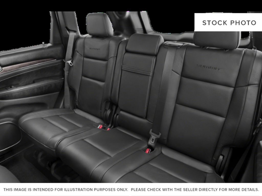 White[Bright White] 2018 Jeep Grand Cherokee Left Side Rear Seat  Photo in Fort Macleod AB