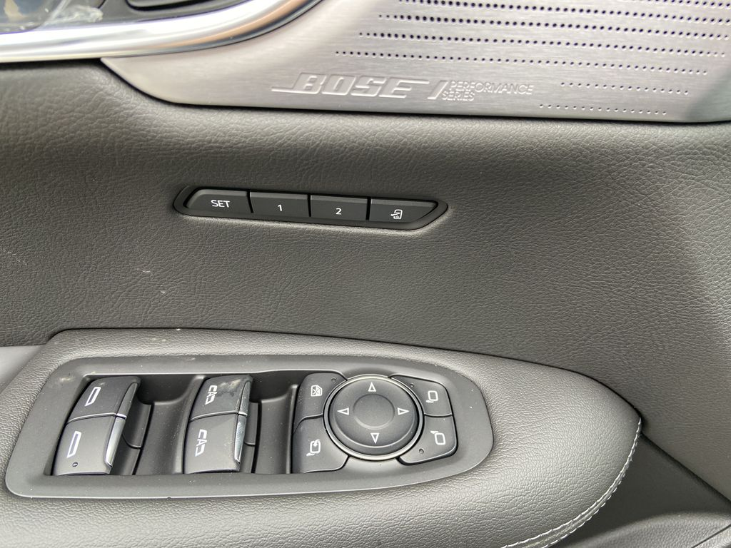 White[Crystal White Tricoat] 2021 Cadillac XT6 Sport  Driver's Side Door Controls Photo in Calgary AB