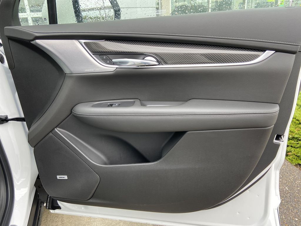 White[Crystal White Tricoat] 2021 Cadillac XT6 Sport Right Front Interior Door Panel Photo in Calgary AB