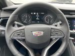 White[Crystal White Tricoat] 2021 Cadillac XT6 Sport Steering Wheel and Dash Photo in Calgary AB