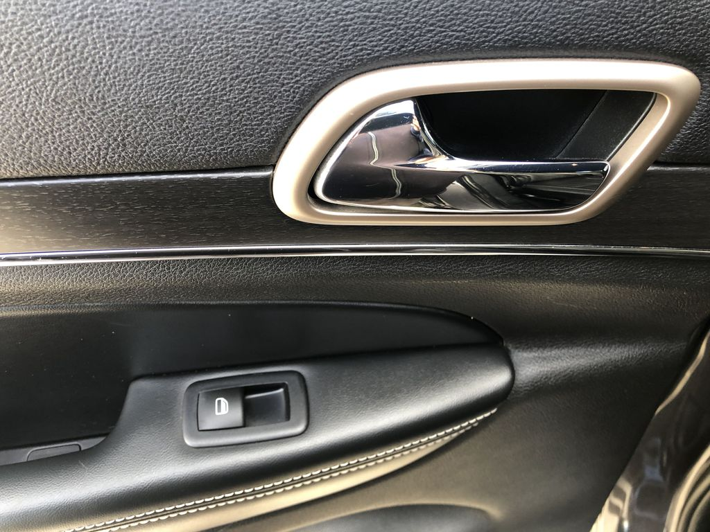Gray[Granite Crystal Metallic] 2016 Jeep Grand Cherokee Limited LR Door Panel Ctls Photo in Canmore AB