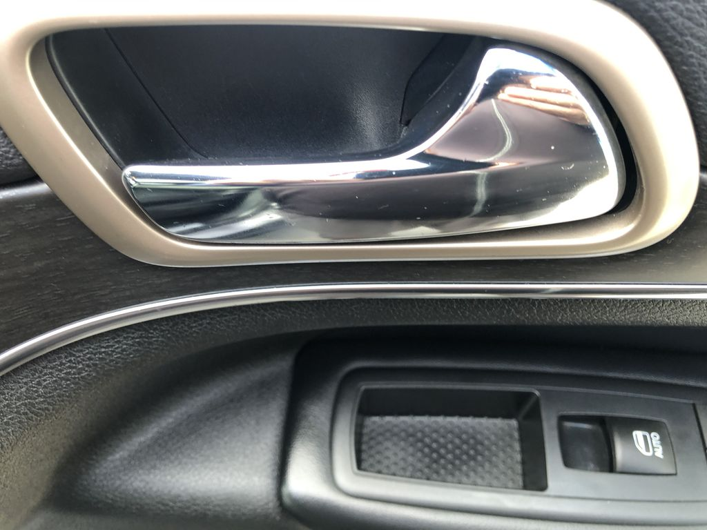 Gray[Granite Crystal Metallic] 2016 Jeep Grand Cherokee Limited Passenger Front Door Controls Photo in Canmore AB