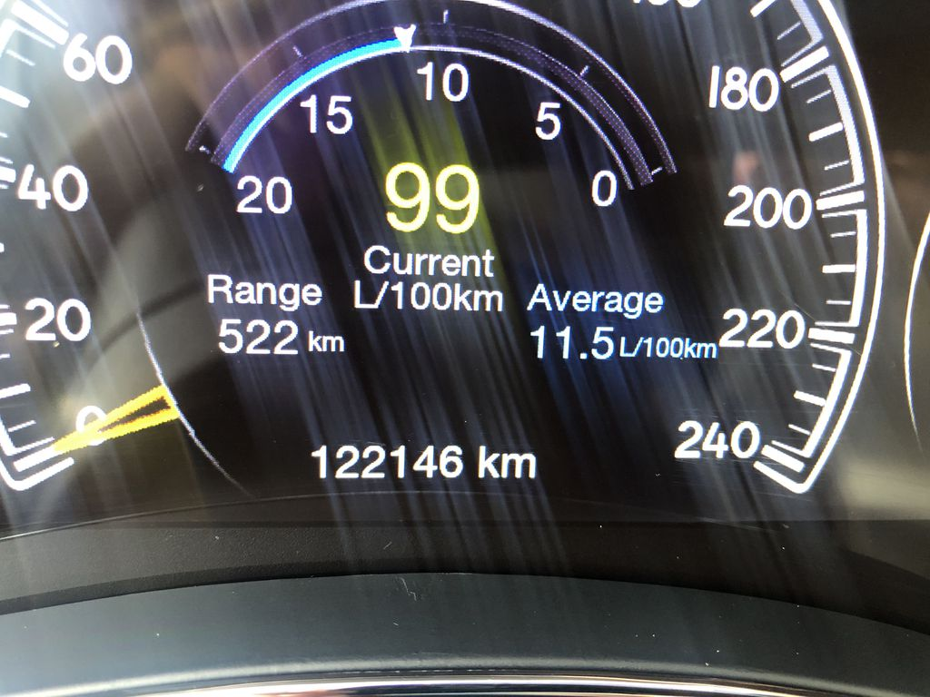 Gray[Granite Crystal Metallic] 2016 Jeep Grand Cherokee Limited Odometer Photo in Canmore AB