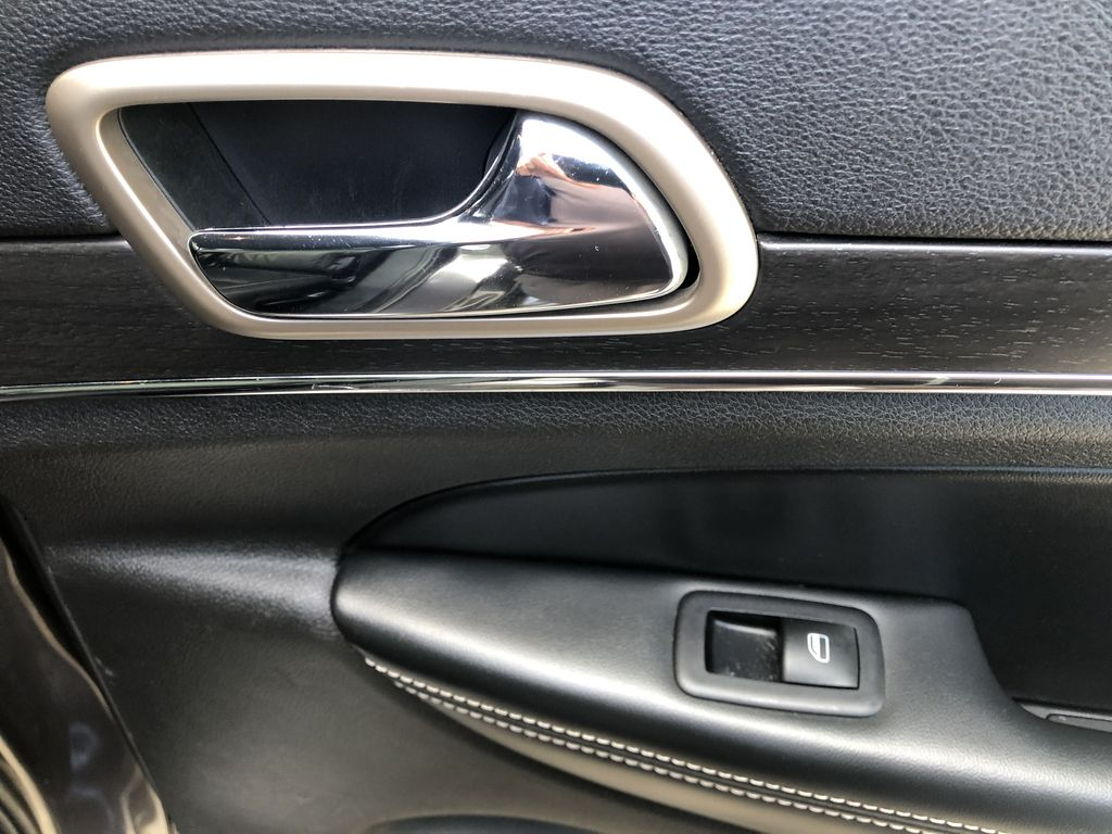 Gray[Granite Crystal Metallic] 2016 Jeep Grand Cherokee Limited Passenger Rear Door Controls Photo in Canmore AB