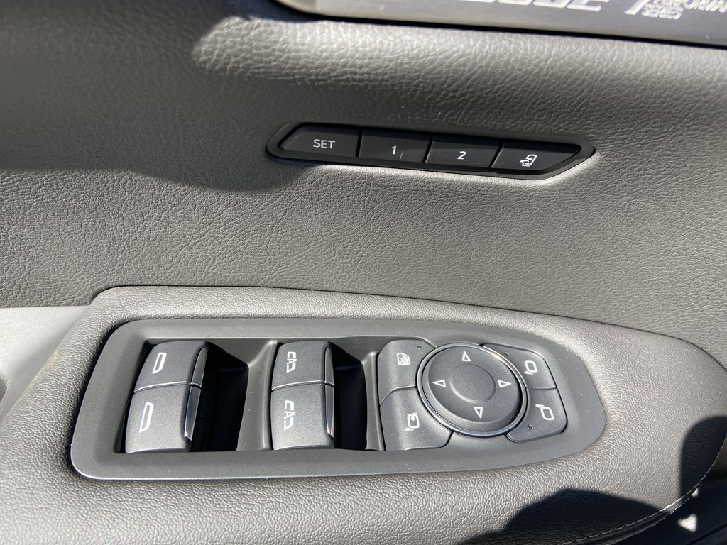 White[Crystal White Tricoat] 2021 Cadillac XT6 Premium Luxury  Driver's Side Door Controls Photo in Calgary AB