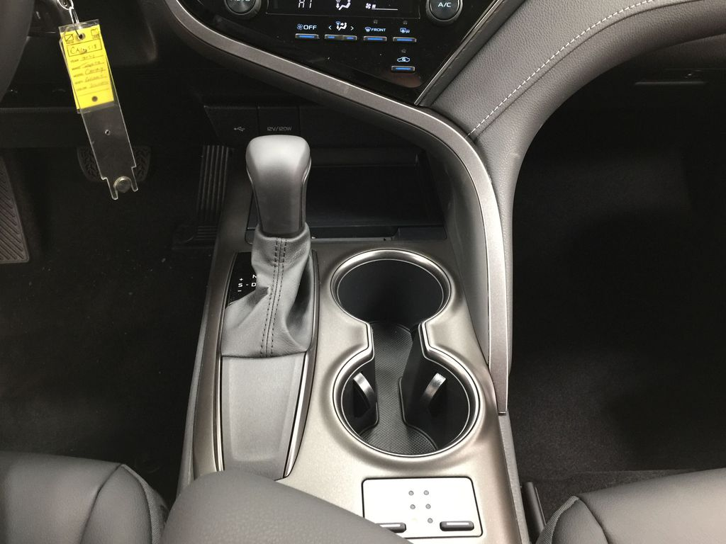 Silver[Celestial Silver Metallic] 2021 Toyota Camry SE FWD Lower Dash Photo in Sherwood Park AB