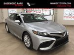 Silver[Celestial Silver Metallic] 2021 Toyota Camry SE FWD Primary Photo in Sherwood Park AB
