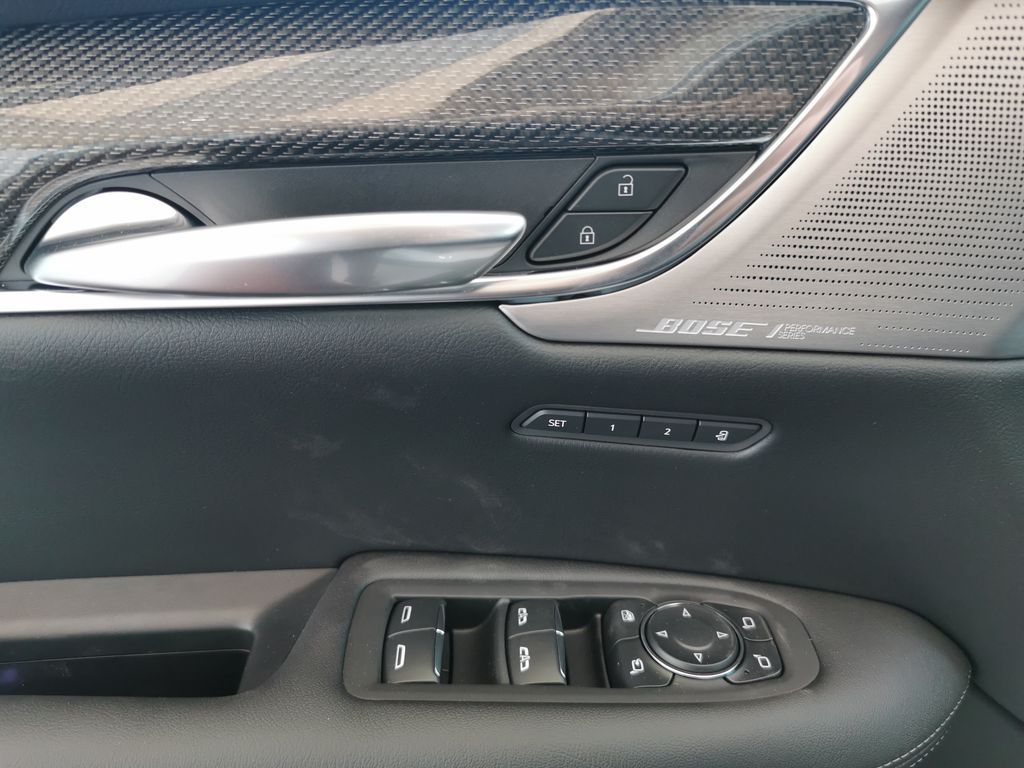 White[Crystal White Tricoat] 2021 Cadillac XT5  Driver's Side Door Controls Photo in Edmonton AB