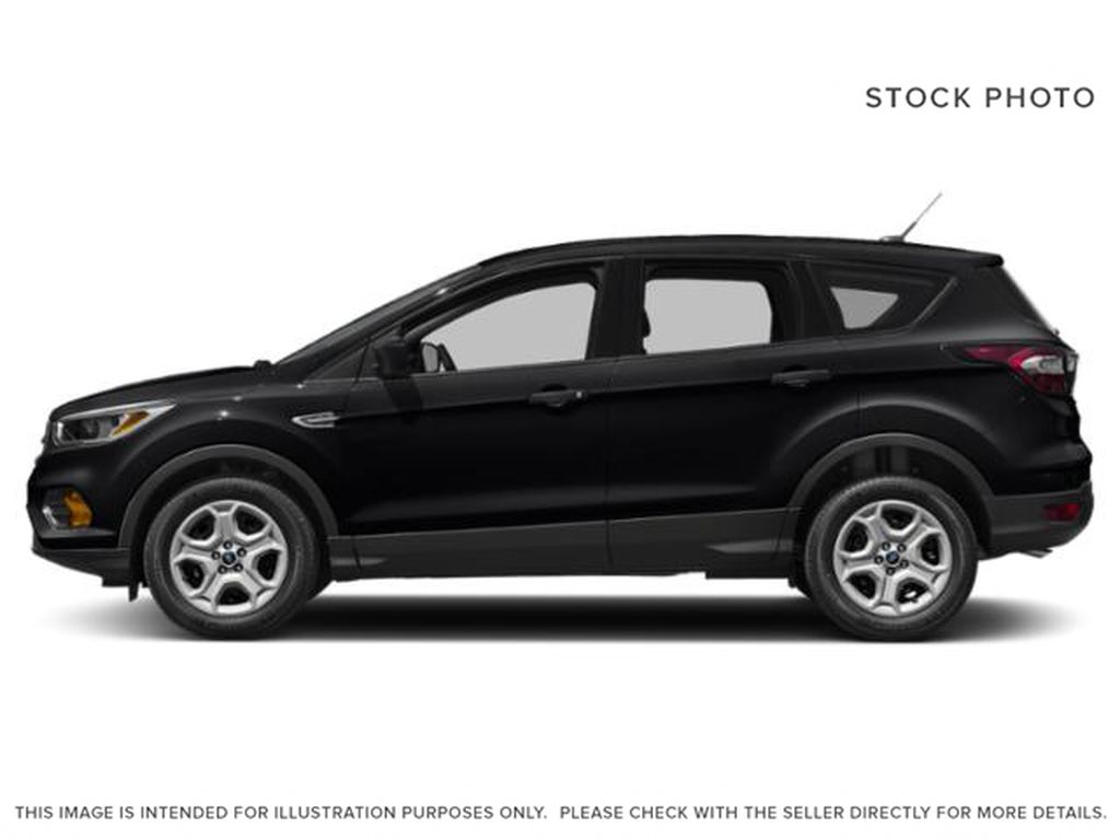 Black[Shadow Black] 2018 Ford Escape Left Side Photo in Dartmouth NS