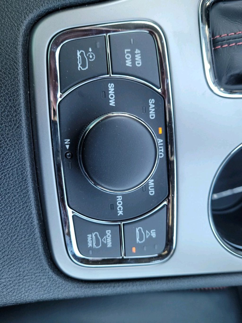Grey 2021 Jeep Grand Cherokee Center Console Photo in Fort Macleod AB