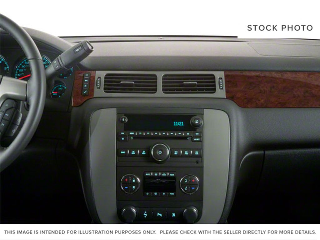 Silver[Pure Silver Metallic] 2011 GMC Yukon Central Dash Options Photo in Fort Macleod AB