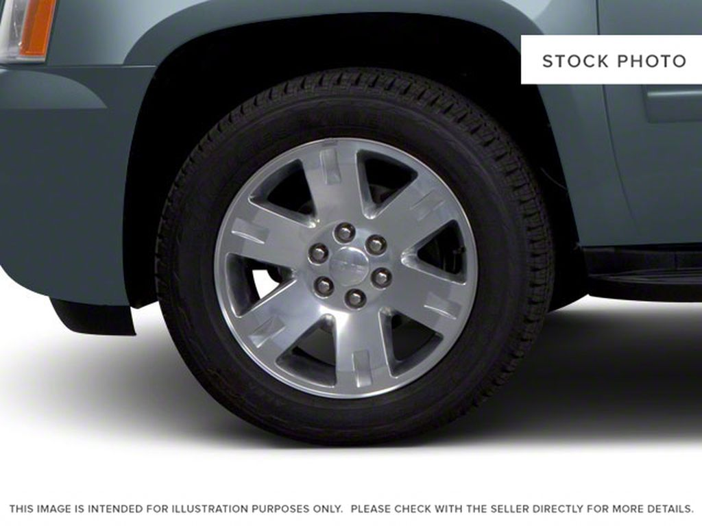 Silver[Pure Silver Metallic] 2011 GMC Yukon Left Front Rim and Tire Photo in Fort Macleod AB