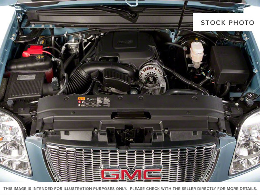 Silver[Pure Silver Metallic] 2011 GMC Yukon Engine Compartment Photo in Fort Macleod AB