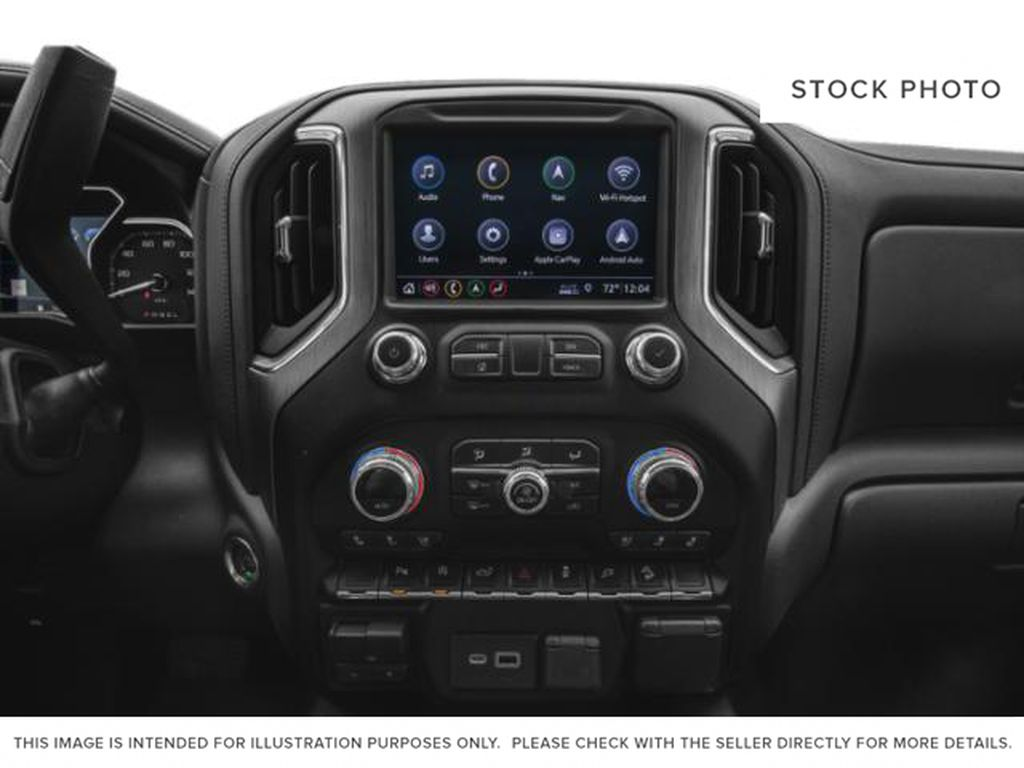 White[White Frost Tricoat] 2020 GMC Sierra 1500 Radio Controls Closeup Photo in Fort Macleod AB