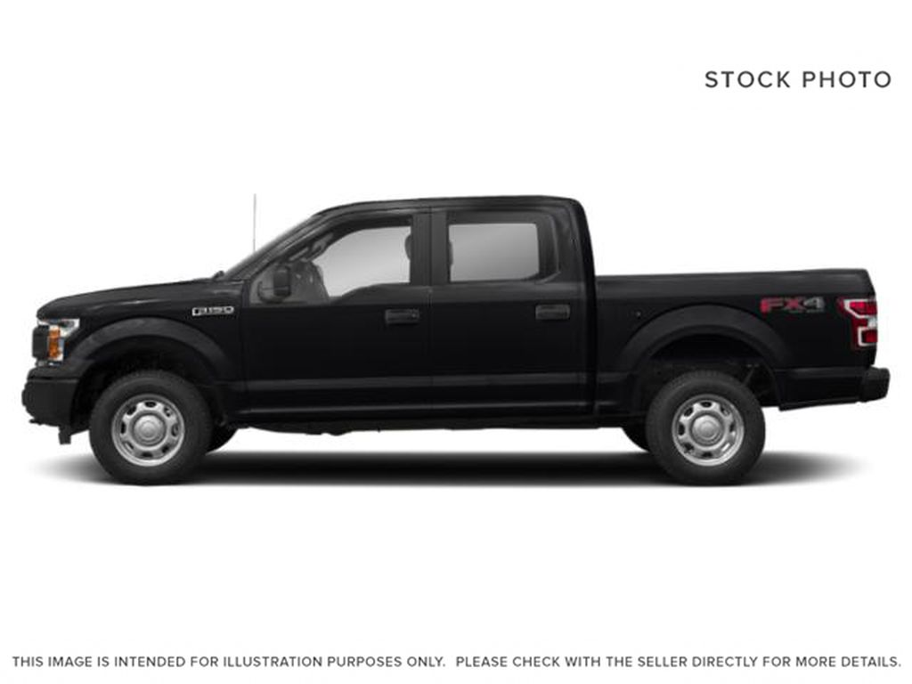 Black[Agate Black] 2020 Ford F-150 Left Side Photo in Fort Macleod AB