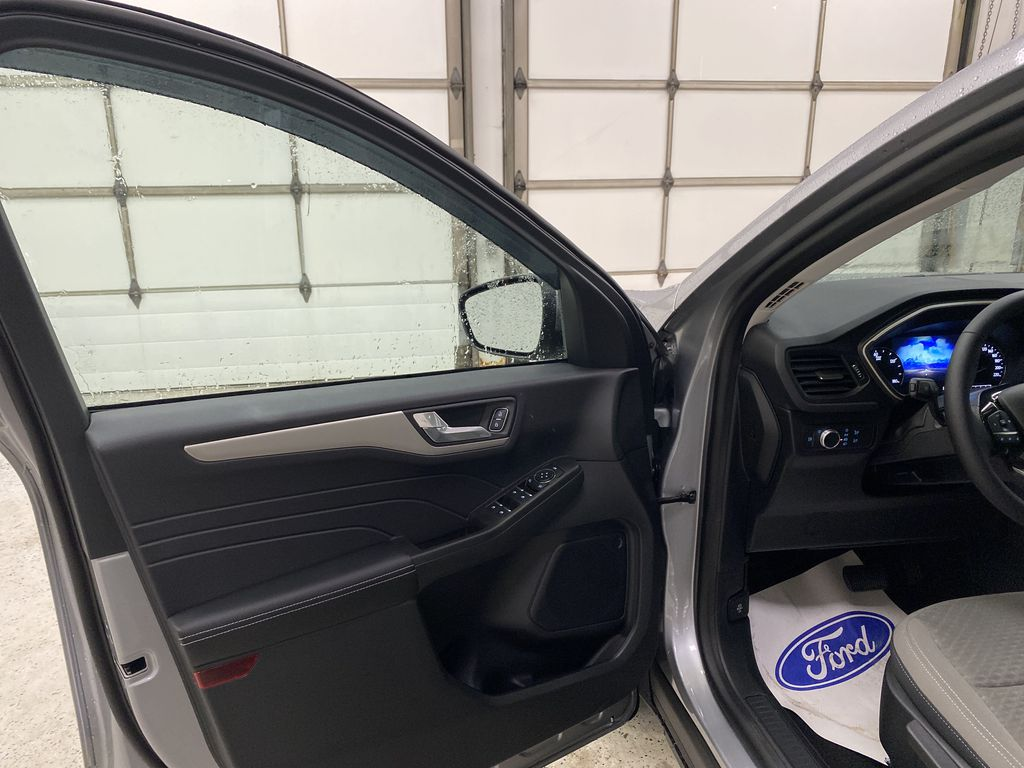 Silver[Iconic Silver Metallic] 2021 Ford Escape Left Front Interior Door Panel Photo in Dartmouth NS