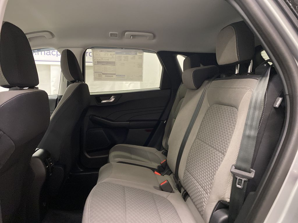 Silver[Iconic Silver Metallic] 2021 Ford Escape Left Side Rear Seat  Photo in Dartmouth NS