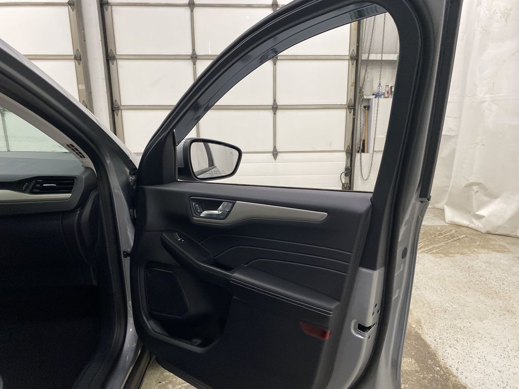 Silver[Iconic Silver Metallic] 2021 Ford Escape Right Front Interior Door Panel Photo in Dartmouth NS