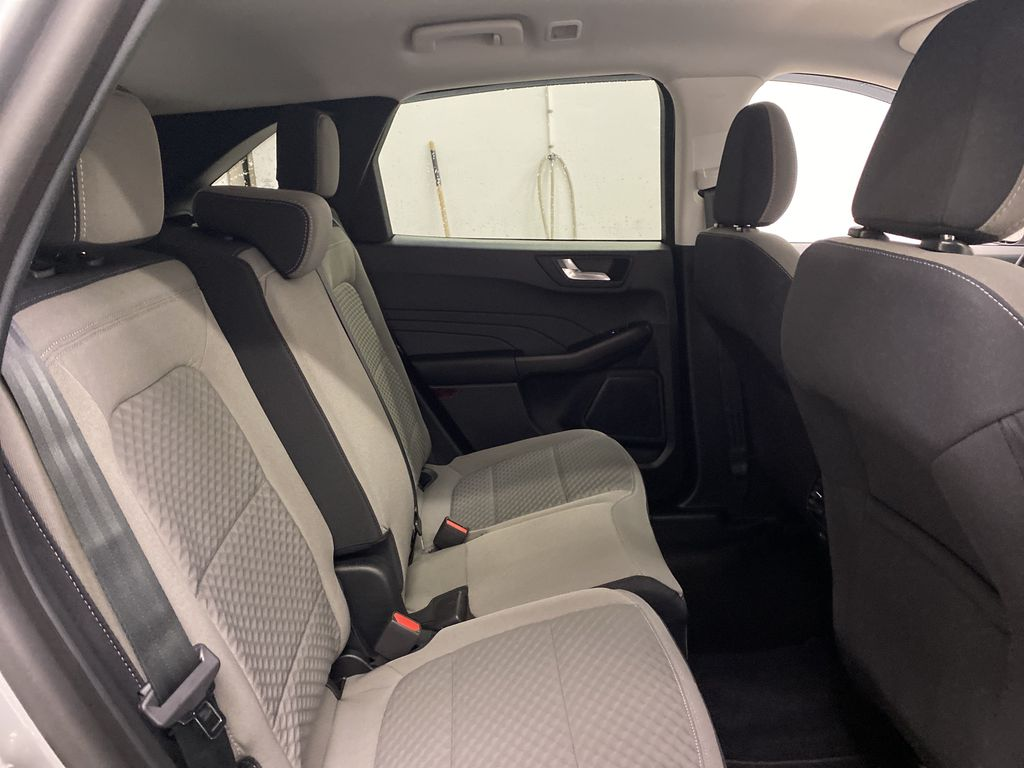 Silver[Iconic Silver Metallic] 2021 Ford Escape Right Side Rear Seat  Photo in Dartmouth NS