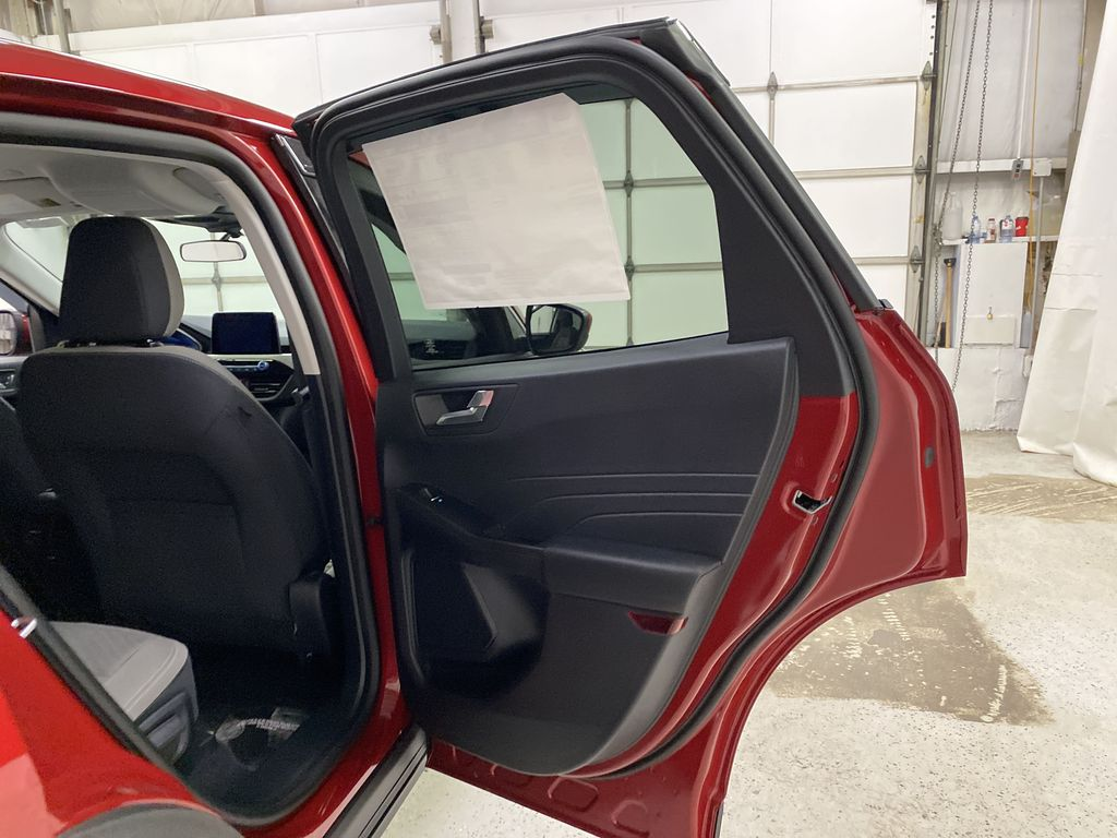 Red[Rapid Red Metallic Tinted Clearcoat] 2021 Ford Escape Right Rear Interior Door Panel Photo in Dartmouth NS