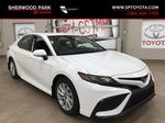 White[Super White] 2021 Toyota Camry SE FWD Primary Photo in Sherwood Park AB
