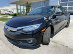 Black[Crystal Black Pearl] 2018 Honda Civic Coupe Touring Left Front Head Light / Bumper and Grill in Calgary AB