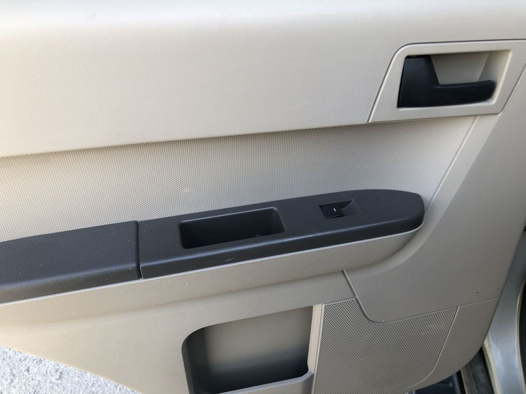 Silver[Silver Metallic] 2008 Ford Escape XLT Left Rear Interior Door Panel Photo in Canmore AB
